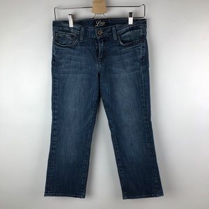 Lucky ashlan sweet and low crop jeans
